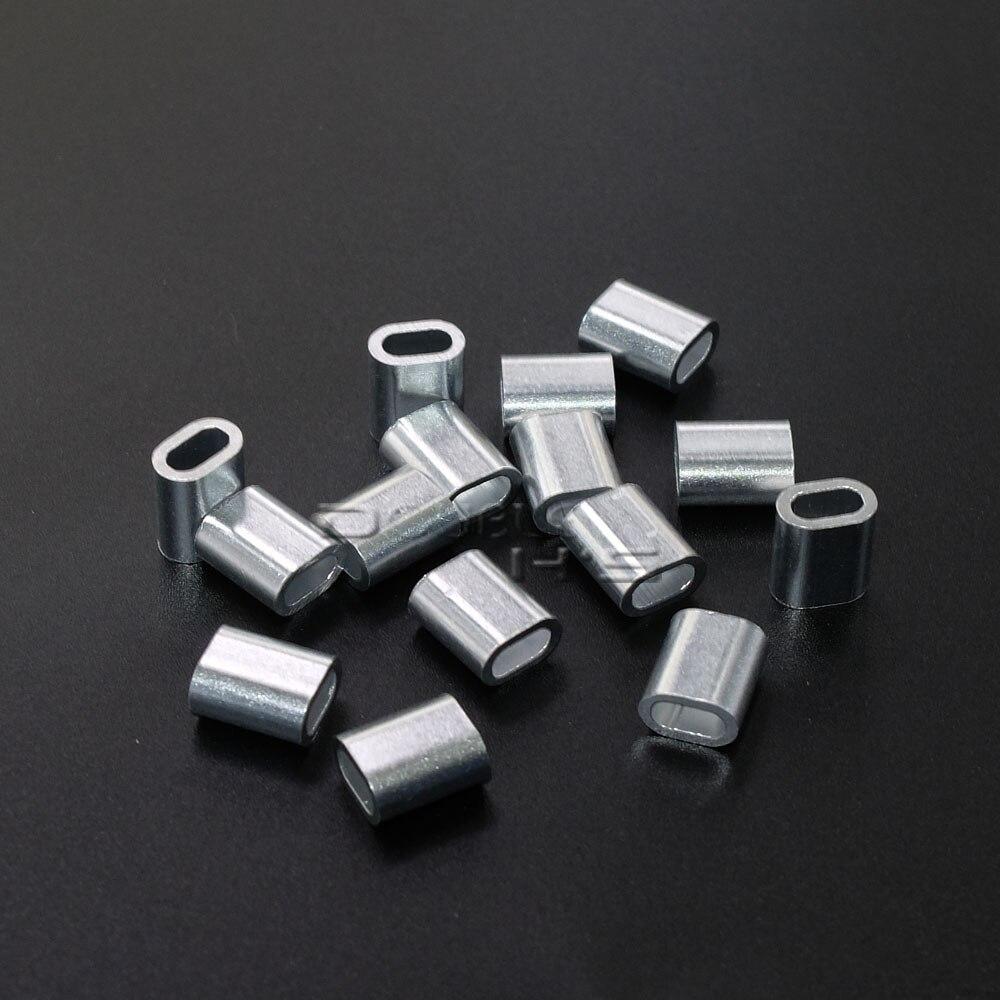 Aliexpress.com : Buy 500pcs/lot Aluminum Cable Crimp Sleeve Cable ...