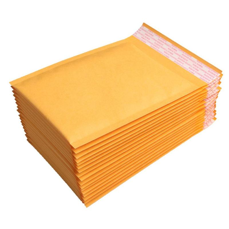 Reasonable 10pcs Blank White Bubble Mailers Padded Envelopes Multi-function Packaging Material Shipping Bags Bubble Mailing Bags Delicacies Loved By All Office & School Supplies Paper Envelopes