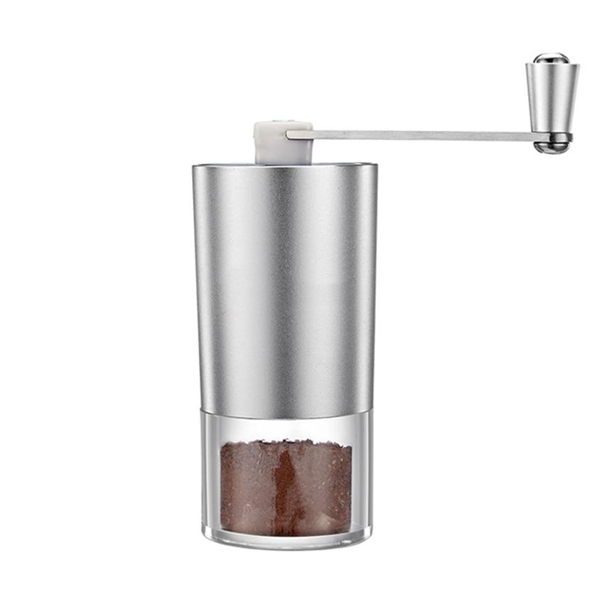 Mini Manual Coffee Grinder Washable Ceramic Core Handmade Coffee Bean Burr Grinders Mill Kitchen Tool Portable Coffee Grinder