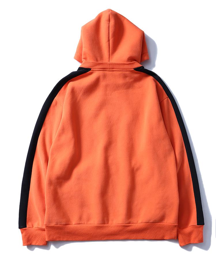 Aolamegs Hoodies Men Side Striped Hood High Street Pullover Cotton Fashion Hip Hop Streetwear Casual Big Pocket Hoodie Autumn (37)