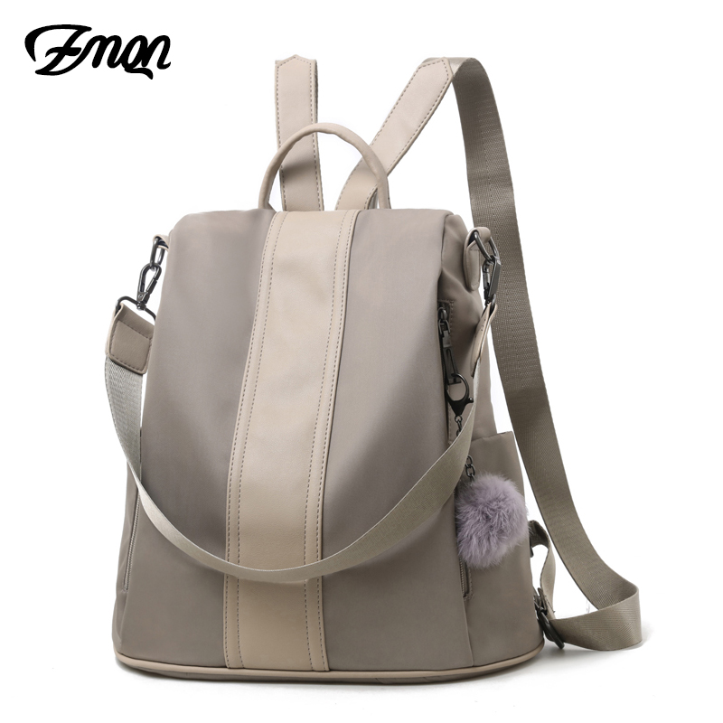 ZMQN Women Backpack 2018 Casual Backpack Bags For Women Daily Korea School Teenage Girls Female Anti Theft Back Pack Sac A Dos fashion women backpack black soft leather backpacks female school shoulder bags for teenage girls travel back pack sac a dos