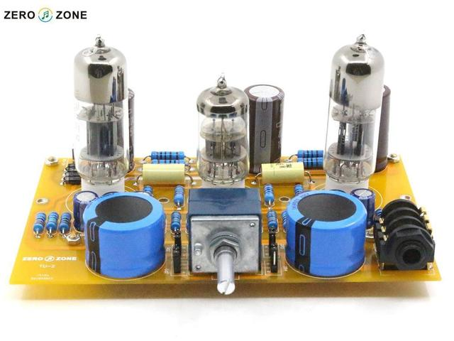 2015 NEW HIFI-STORE  Assembled TU-2 Modified WCF Tube headphone amplifier board 6N2+6N6 L1510-4