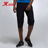 XTEP Summer Men S Gym Athletic Sweatpants Fitness Workout Beach Trousers Running Shorts Pants For Men