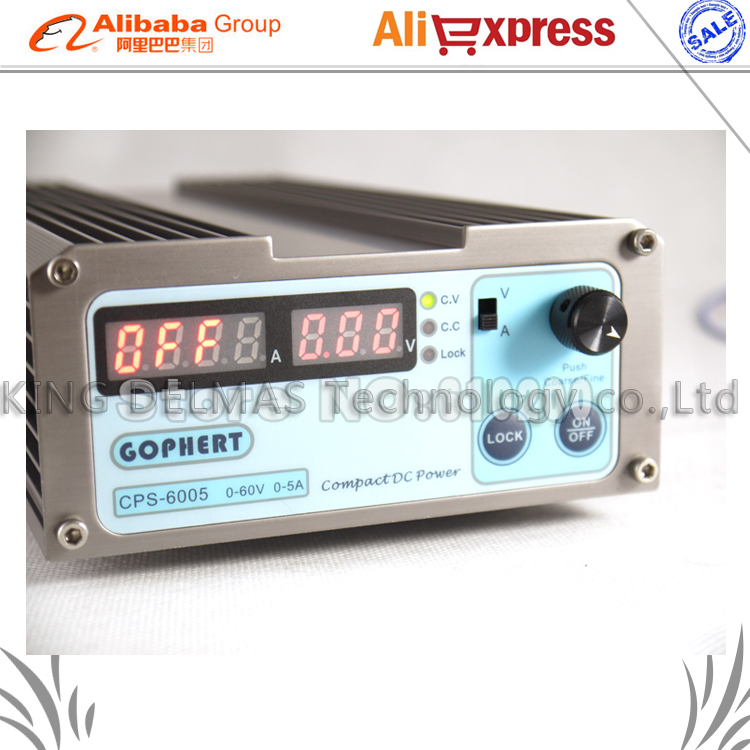Free shipping Wholesale precision Compact Digital Adjustable low power DC Power Supply OVP/OCP/OTP 110V/230V 60V/5A MCU control cps 6011 60v 11a digital adjustable dc power supply laboratory power supply cps6011