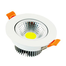 Recessed LED  Ceiling light  COB 3W 5W 7W Dimming LED Spot light LED decoration Ceiling Lamp AC 85-265V