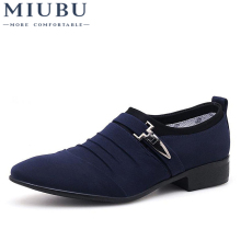MIUBU Plus Size 38-48 Men Dress Shoes Classic Business Office Oxford For 2018 New Casual British Style Man Flats