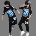Boy hip hop set Girl suit Children's Jazz clothing Children dancing suit