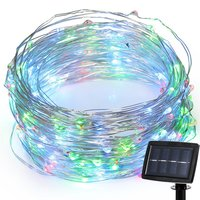 ZINUO 22M 200LED Solar String Garden Decoration Waterproof Lights Solar Led Strip Light Home Wedding Christmas