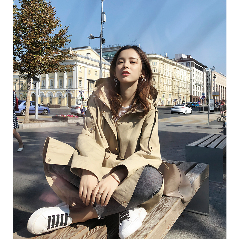 Mishow 2019 Winter new collection long sleeve   Trench   MX18C7322