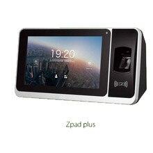 Zpad plus zkteco биометрическая система учёта времени записи часов работник цифровой электронный английский
