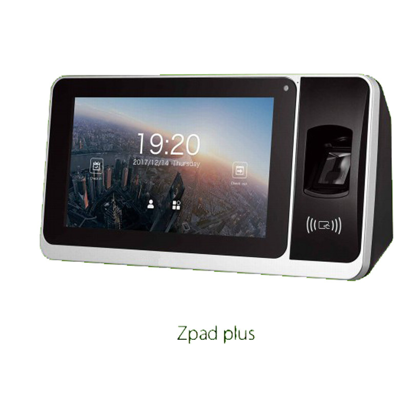 Zpad Plus Zkteco Biometric Time Attendance System TCP/IP USB Time Clock Recorder Employees Device Fingerprint Time Attendance Ma