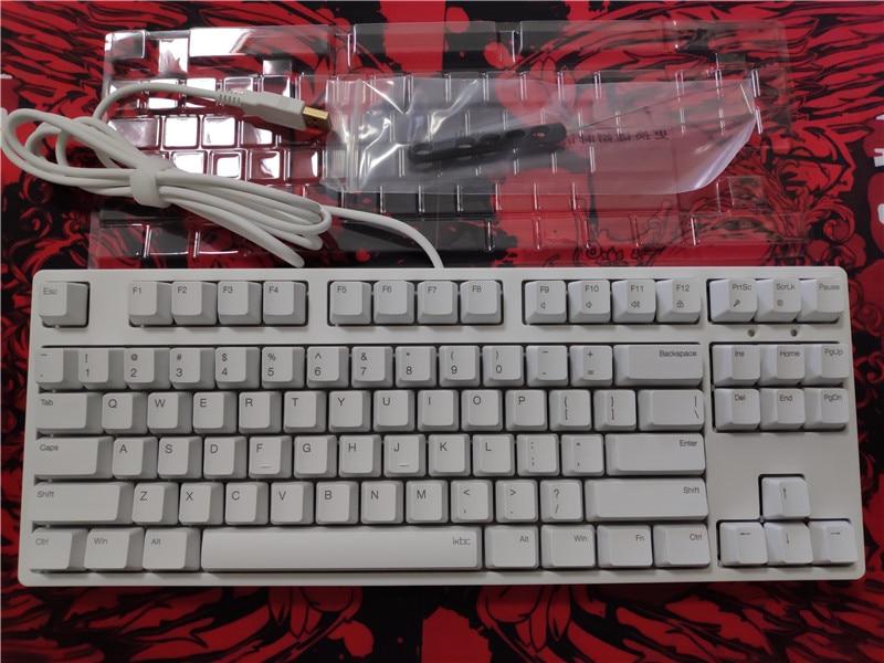 IKBC C87 TKL mechanical keyboard cherry mx silent red tenkeyless C87 PBT keycap non backlit gaming