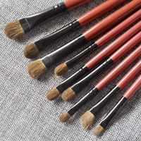 22pcs Profession Makeup Brushes Set Cosmetic Brush Eyebrow Foundation Shadows Brush Eyeliner Lip Happy Party Make