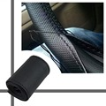 New Car Steering Wheel Cover Braid on Steering Wheel Microfiber Skid-Proof Cover All Single Connector 36-38 cm-Car styling