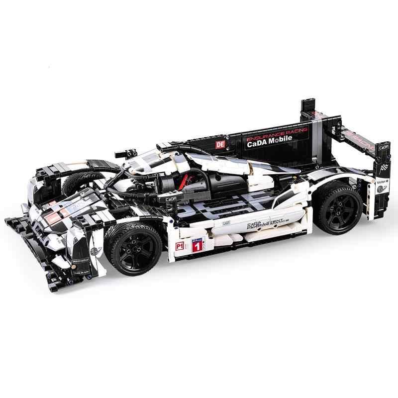 CADA 携帯技術 1586 個スーパーカー Legoing テクニッククリエーター MOC 都市のビルディングブロックレンガ技術者のおもちゃ子供