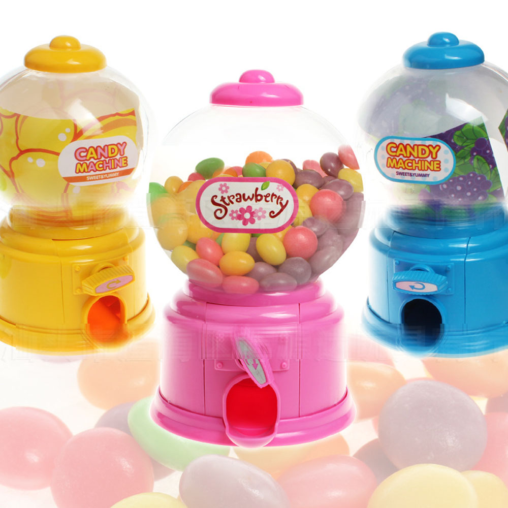 Candy machine colorful piggy bank Saving Coin box Moneybox