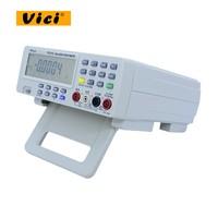 Цифровой верхний мультиметр Температура метр тестер PC аналоговые 80000 отсчетов аналоговой гистограммы ж/23 сегментов DMM VICH VC8145