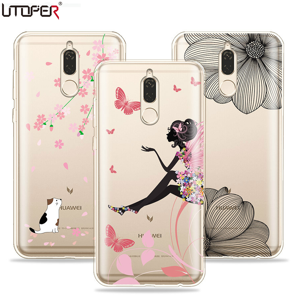 UTOPER Cute Phone Cases For Huawei Nova 2i Case Cover For