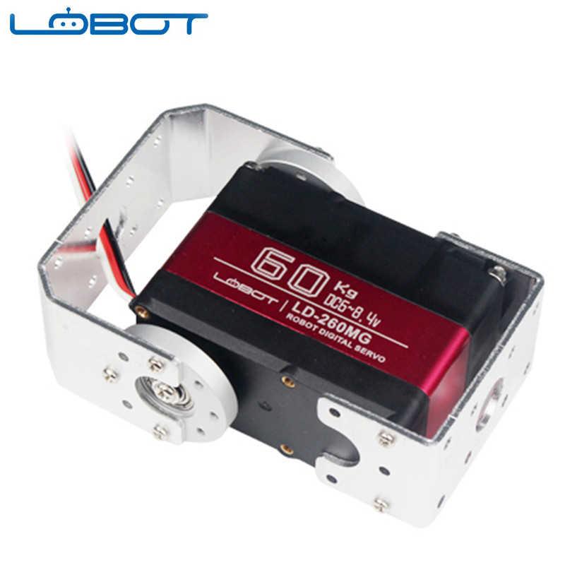 LOBOT LD-260MG 180 ° 60 KG Grote Koppel Metal Gear Digitale Servo Voor RC Robot Drone Quadcopter Onderdelen DIY