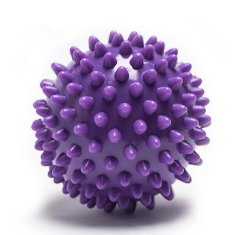 6 Color PVC Hand Massage Ball PVC Soles Hedgehog Sensory Training Grip Balls Portable Physiotherapy Catch Hard Fitness 7cm