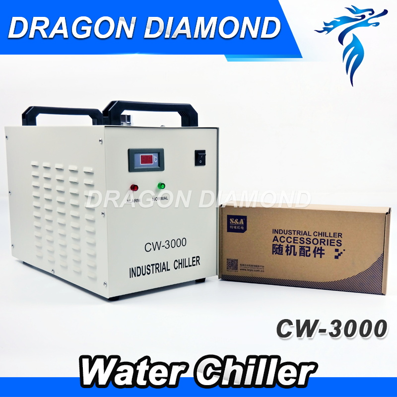 CW3000 Industry Air Water Chiller for CO2 Laser Engraving Cutting Machine Cooling 60W 80W Laser Tube cw5000 industry air water chiller for co2 laser engraving cutting machine cooling 80w 100w laser tube