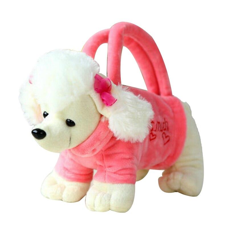 FGGS-3D Dog Bags Kid Toys Handbag white dog 25*10cmFGGS-3D Dog Bags Kid Toys Handbag white dog 25*10cm