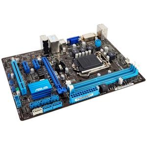 Image 2 - Asus P8B75 M LX PLUS เมนบอร์ดเดสก์ท็อป B75 LGA 1155 สำหรับ i3 i5 i7 DDR3 16G SATA3 USB3.0 DVI Micro   ATX เดิมใช้ Mainboard