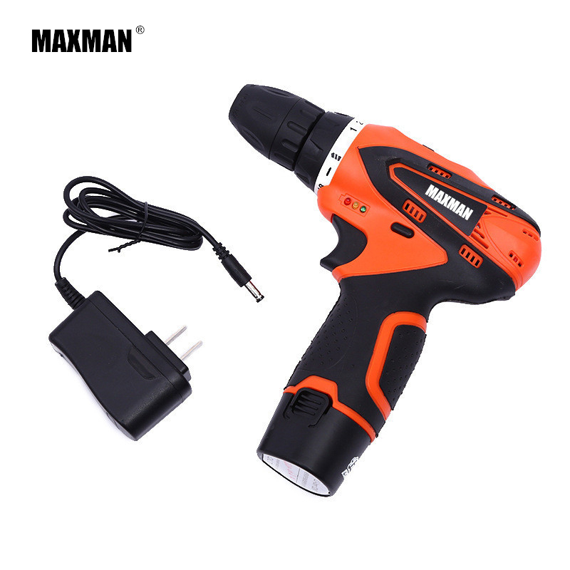 MANXMAN 12V Dremel DIY Lithium-Ion Battery Cordless Drill Driver Mini Drill Electric Drill Household Power Tool Woodwork drill buddy cordless dust collector with laser level and bubble vial diy tool new