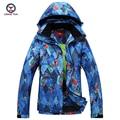 2016 inverno mulheres Geométrica impresso casaco de algodão revestimento das senhoras jaqueta e calças conjuntos de algodão térmica à prova de vento à prova d' água 9652