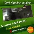 Бесплатная доставка C23-UX21 C22-UX21 Оригинальный Аккумулятор Для ноутбука Для Asus Ultrabook ZENBOOK UX21 UX21A UX21E 7.4 В 4800 МАЧ 35WH