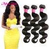 8A brazilian body wave 3pcs human hair mink brazilian virgin hair body wave meches bresilienne lots brazilian hair weave bundles