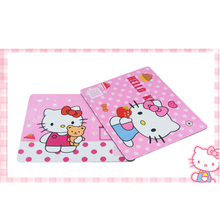 Cute Mouse Pad Gaming Keyboard Pad Laptop Computer Mouse Pad Pink Black Hello Kitty girl creative cute owl mouse pad 1pc