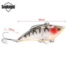 SeaKnight SK010 VIB Hard Baits 60mm 9.5g Fishing Lure Set 5Pcs Sinking Vibration Plastic VIB Artificial Hard Bait Fishing Baits