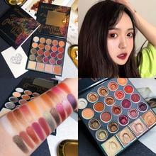 24 Color Shimmer Matte Eyeshadow Palette Glitter Makeup Palette Waterproof Creamy Metallic Eyeshadow Pallete Cosmetics недорого