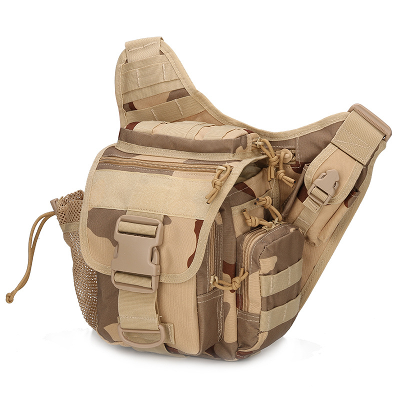 green L'escursione black Vita Di Tattico multicam Bag Caccia Spalla Da tan Militare Borsa Acu Per Sports Sella Borse A Digital woodland Campeggio Arrampicata Molle Outdoor Hqw7RR