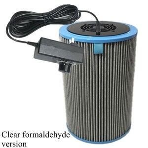 Image 5 - Домашний очиститель воздуха, HEPA фильтр для удаления пыли PM2.5, формальдегид, TVOC, дезодорирующий очиститель воздуха для дома и автомобиля