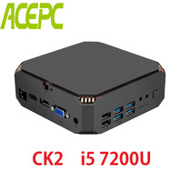 Mini PC i5 Kaby Lake CPU Intel Core i5 7200U 2 cores 4 threads 2.5GHZ Dual Band 2.4G&5.0G WIFI Windows Mini Computer Desktop PC
