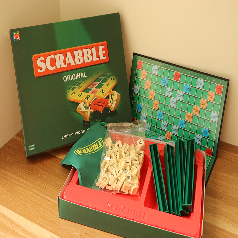 English French Russian Scrabble Games Kid Crossword Puzzles Children Board Spelling Table Children's Educational Toys