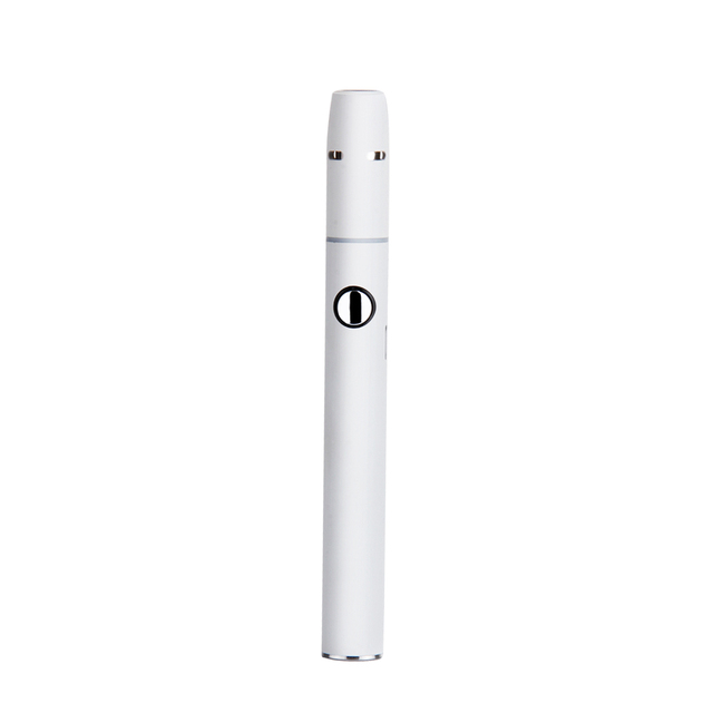 , SMY Pluscig V2 Kit 2pcs White 650mah 900mah Battery Electronic Cigarette Dry Herb Vape Vaporizer Compatibility with stick