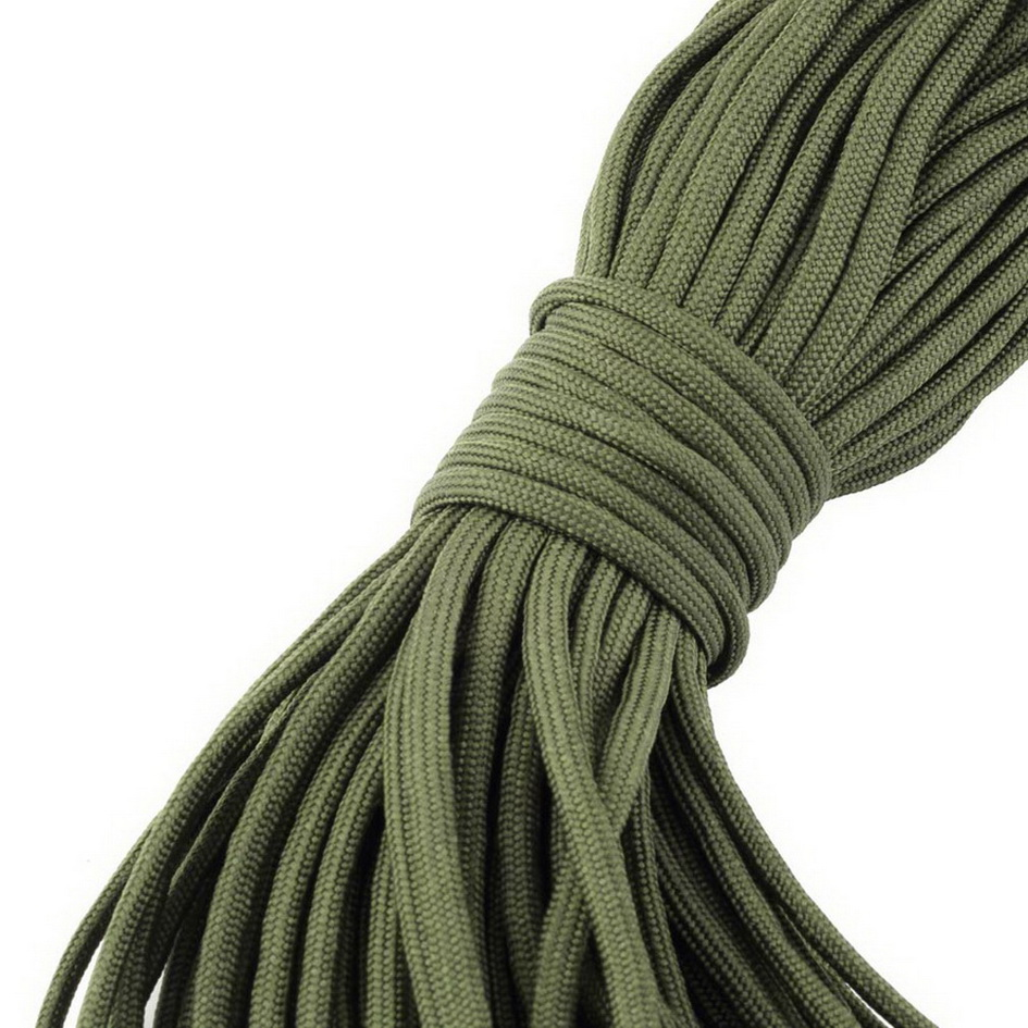 New 550 Paracord Parachute Cord Lanyard Mil Spec Type III 7 Strand Core100FT free shipping