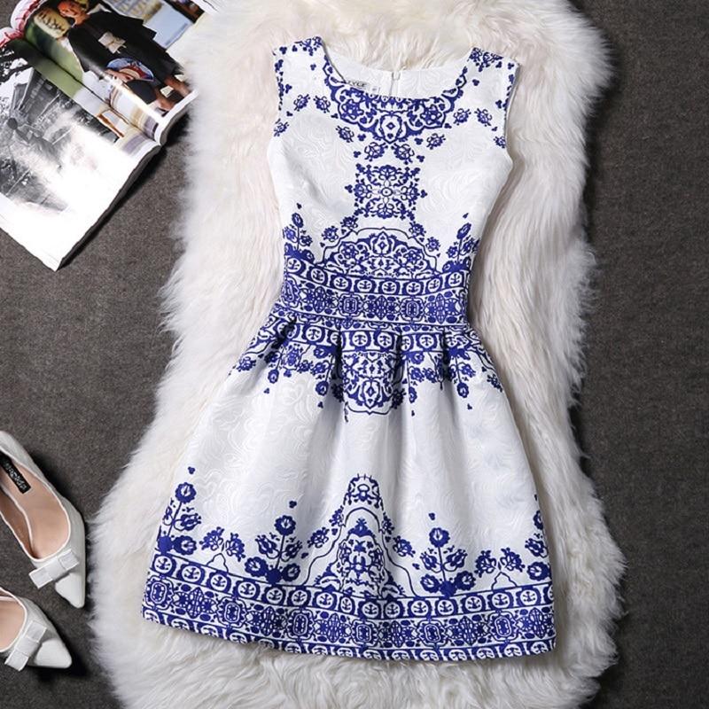New Brand Print Dress Vestido De Festa Women Summer casual Dress Vintage Sexy Party Vestidos Plus Size Ladies Maxi Boho Clothing