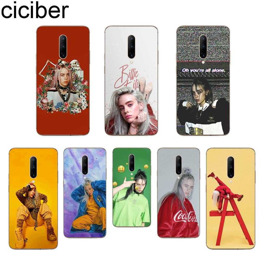 ciciber Billie Eilish Phone Case For font b Oneplus b font font b 7 b font