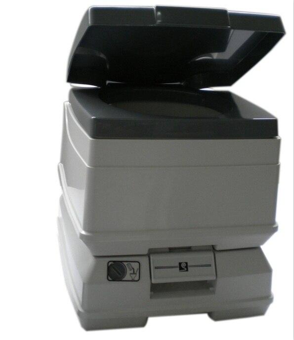 10L nouveau style de conception en plastique camping toilette portable pot utilisé pour les enfants