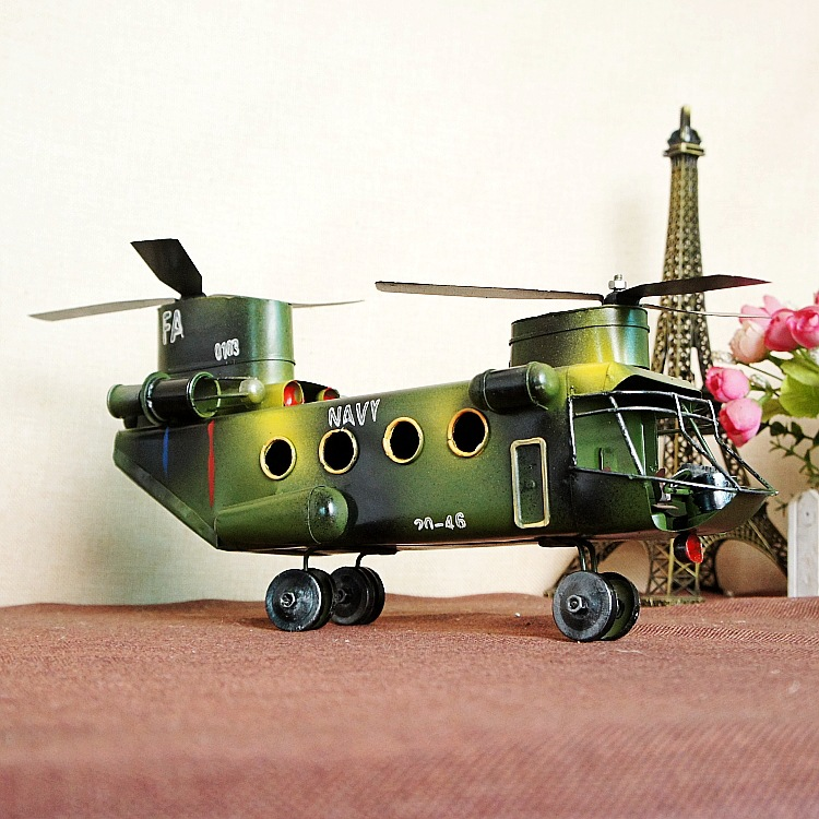 Hercules Military Helicopter Gunships Manual Sheet Model plane Military Model Home Office Table Table Decor F68 military modern wars diecast boeing ah 64 apache helicopter gunships can shoot alloy pull back toy with light