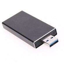 M.2 NGFF для USB 3.0 жесткий диск Адаптер B + M ключ M2 SATA SSD Внешний HDD Мобильный Box EM88