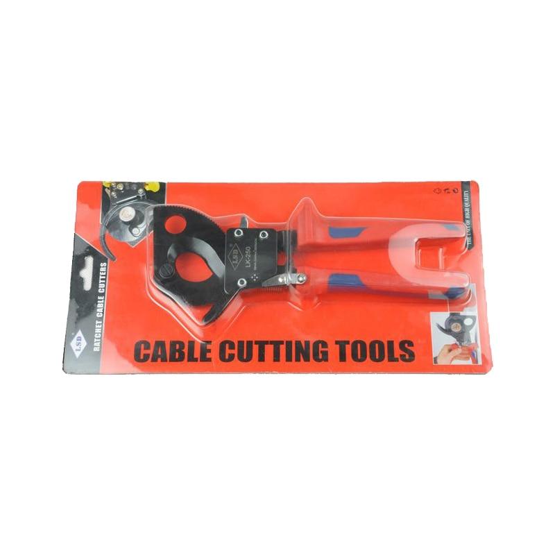 Taglierina per cavi a cricchetto di alta qualità LK-250 per il - Utensili manuali - Fotografia 2