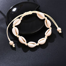 Shell Handmade Jewelry Anklets for Women Summer Beach Barefoot Ankle Bracelet Bohemian Bracelet Shell Accessories(China)