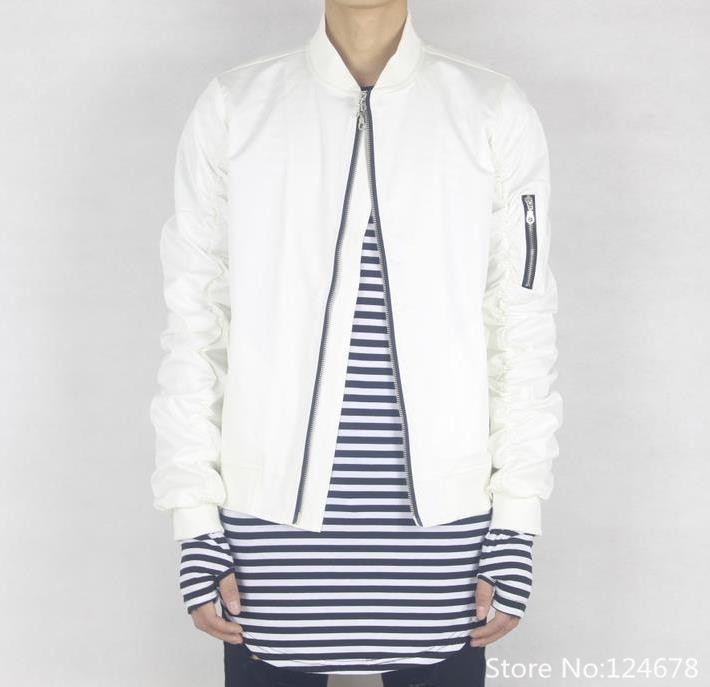 cool white bomber jacket hip hop swag clothes kanye