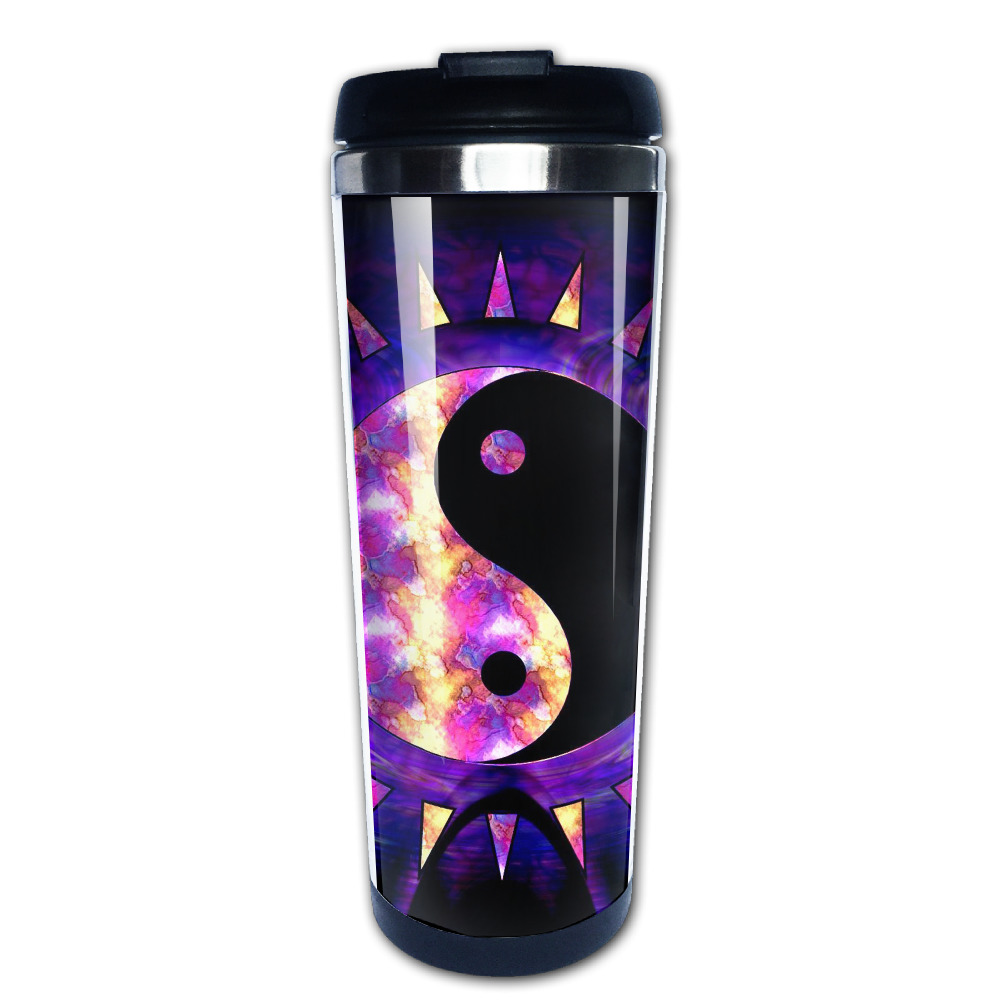 Zen Relaxation coffee mug gift dad tazas stainless steel tumbler caneca tea Cups