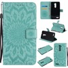 Luxury Flower Embossed Case sFor fundas ZTE Zmax Pro Z981 Case sFor coque ZTE Z981 Z 981 Case + Card Holders